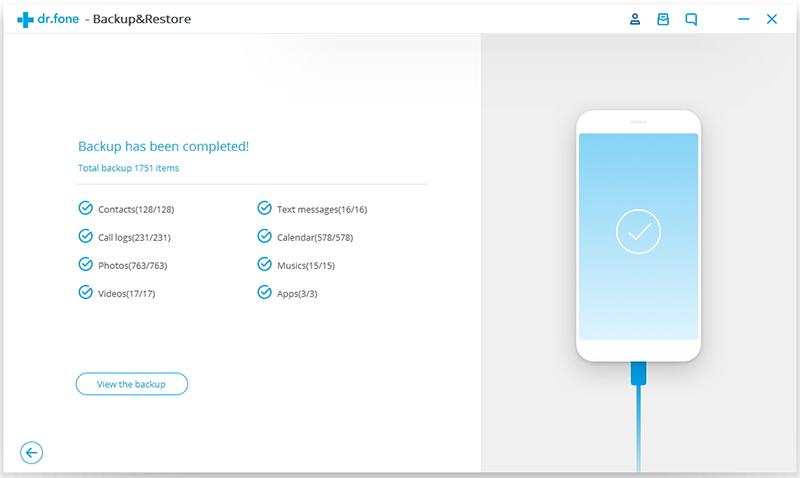 android backup step 3 - backup data